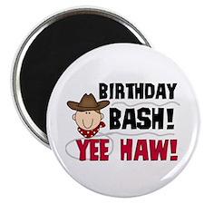 Boys Birthday Bash Magnet