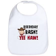 Boys Birthday Bash Bib
