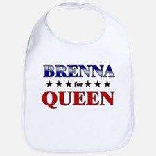 BRENNA for queen Bib