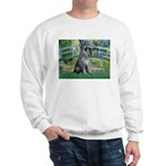 Lily Pond Bridge/Giant Schnau Sweatshirt