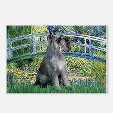 Lily Pond Bridge/Giant Schnau Postcards (Package o