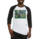 Lily Pond Bridge/Giant Schnau Baseball Jersey