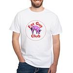 Fat Guy Club White T-Shirt