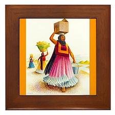 Covarrubias Mexico Ceramic Art Tile Framed Tile