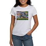 Lilies #2 & PS Giant Schnauze Women's T-Shirt
