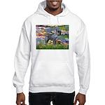 Lilies #2 & PS Giant Schnauze Hooded Sweatshirt