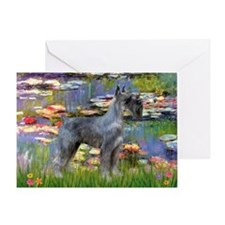 Lilies #2 & PS Giant Schnauze Greeting Card