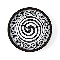Spiral Strength Wall Clock