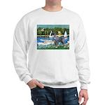 PS G. Schnauzer & Sailboats Sweatshirt