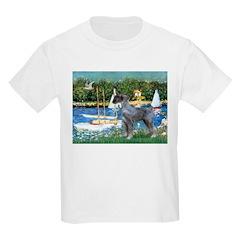 PS G. Schnauzer & Sailboats T-Shirt
