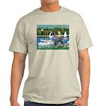 PS G. Schnauzer & Sailboats Light T-Shirt
