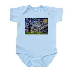 Starry Night PS Giant Schnauz Infant Bodysuit
