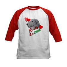 Irish Wolfhound Kiss me Tee