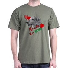 Irish Wolfhound Kiss me T-Shirt