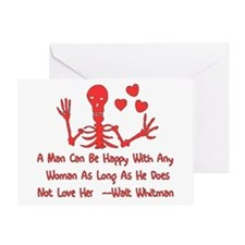Women and Whitman Greeting Card