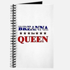 BREANNA for queen Journal