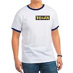 Vegan logo Ringer Tee