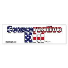Conservative Kid bumpersticker