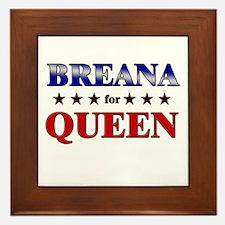 BREANA for queen Framed Tile