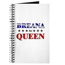 BREANA for queen Journal