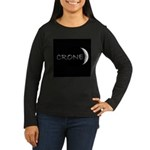 CRONE Women's Long Sleeve Dark T-Shirt