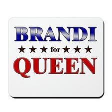 BRANDI for queen Mousepad