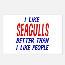 I Like Seagulls Postcards (Package of 8)