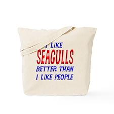 I Like Seagulls Tote Bag