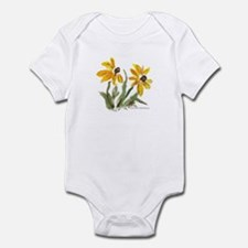 Yellow Flowers Infant Bodysuit