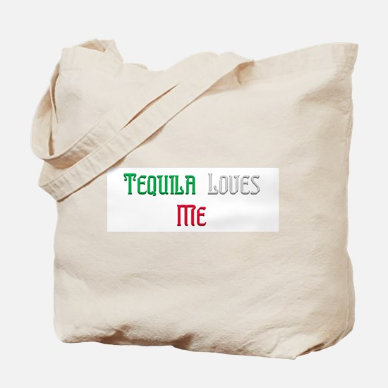 Tequila Loves Me Tote Bag