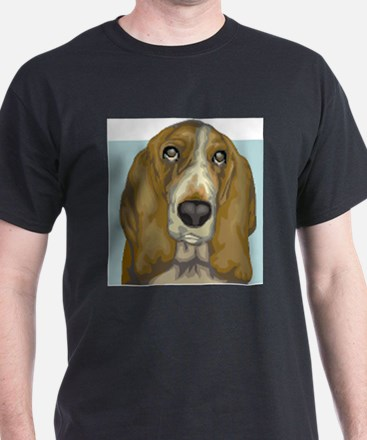Basset Hound (Front only) T-Shirt