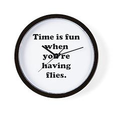 time is fun when you're having flies clock