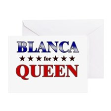 BLANCA for queen Greeting Card