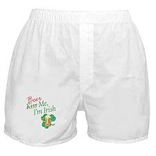 Kiss Me-Beer Me _ Boxer Shorts