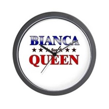 BIANCA for queen Wall Clock