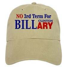 No 3rd Term For Billary Clinton Baseball Cap