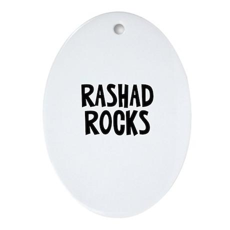 Rashad Rocks Oval Ornament