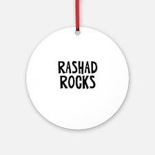 Rashad Rocks Ornament (Round)