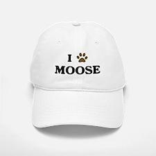 Moose paw hearts Baseball Baseball Cap