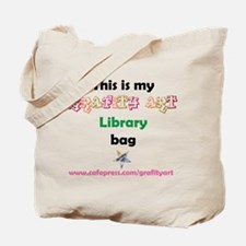 Lets Go . . .LIBRARY Tote Bag