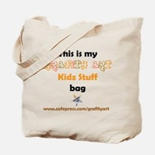 Lets Go . . .KIDZ STUFF Tote Bag