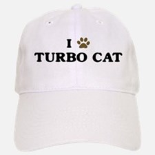 Turbo Cat paw hearts Baseball Baseball Cap