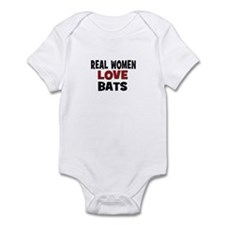 Real Women Love Bats Onesie