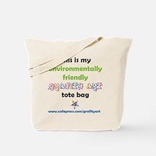 Lets Go . . . ENVIRONMENTALLY FRIENDLY Tote Bag