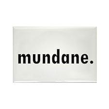 Cute Mundane Rectangle Magnet