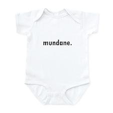 Cute Mundane Infant Bodysuit