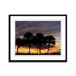 Florida Sunset_4 Framed Panel Print