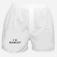 Marley paw hearts Boxer Shorts