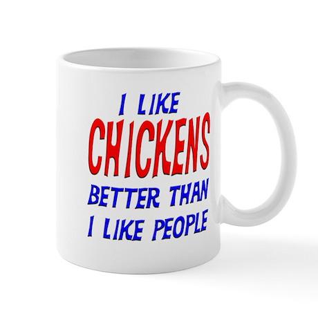 I Like Chickens Mug