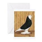 Black Bald West Greeting Cards (Pk of 10)